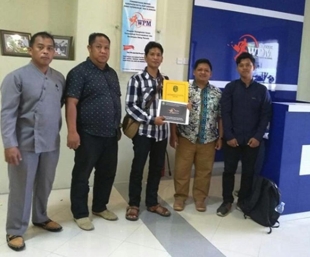 Forum Kewirausahaan Pemuda Provinsi Kaltim Mengujungi KLINIK WPM KUKAR