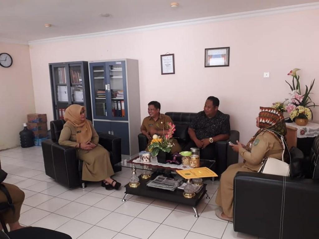 Koordinasi ke Dispora provinsi tentang forum kewirausahaan pemuda