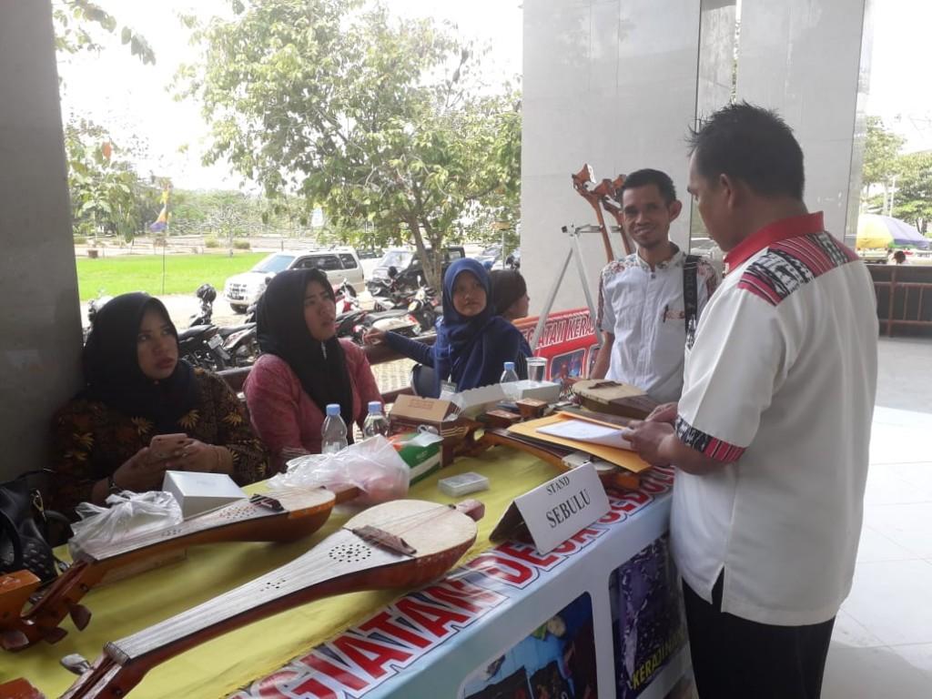 Pendataan wirausaha muda pada event inovasi desa kecamatan Tenggarong seberang