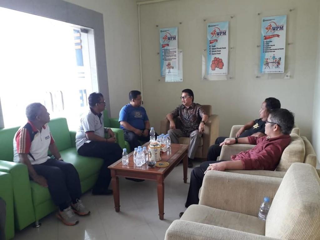 Sharing dan Koordinasi bersama Perwakilan BLK Samarinda dan Tenaga Ahli Wirausaha.